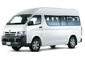 Toyota Hiace Rental in China
