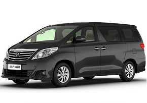 Toyota Alphard Rental in Asia