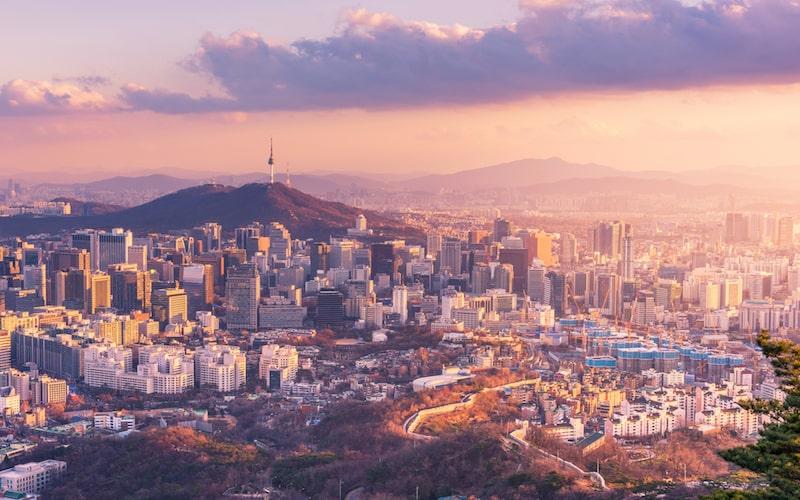 Seoul City view