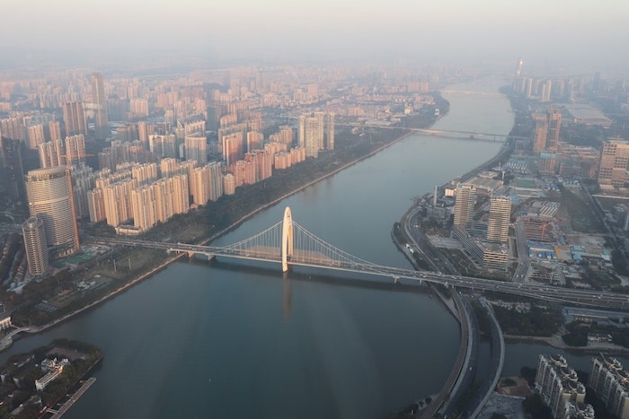 View from the Canton Tower, Guangzhou